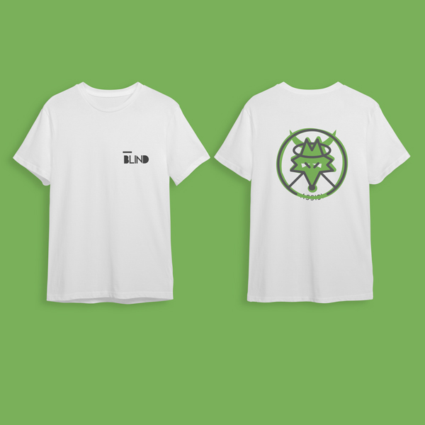 T Shirt Birra dell'Eremo Logo Blind